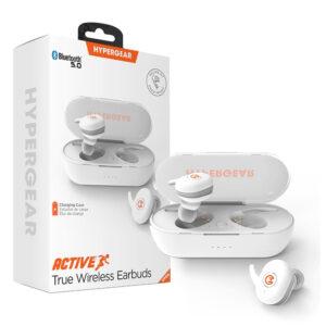 Hypergear Active True Wireless Earbuds - White