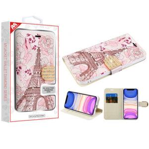 MyBat MyJacket Wallet Diamond Series for APPLE iPhone 11 - Eiffel Tower