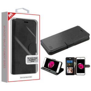 MyBat MyJacket Wallet Element Series for APPLE iPhone 8 Plus-7 Plus - Black